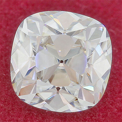 Radiance® Premium moissanite, Old Mine Cut, 1.3ct diamond equivalent (6.5mm)