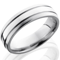 Style 103648: Cobalt Chrome 6mm Domed Band