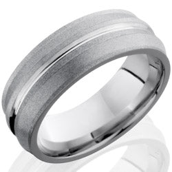 Style 103761: Cobalt Chrome 8mm Band