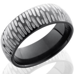 Style 103872: Zirconium 7mm Domed Band