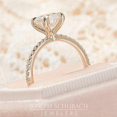 The Adeline Delicate Solitaire Engagement Ring