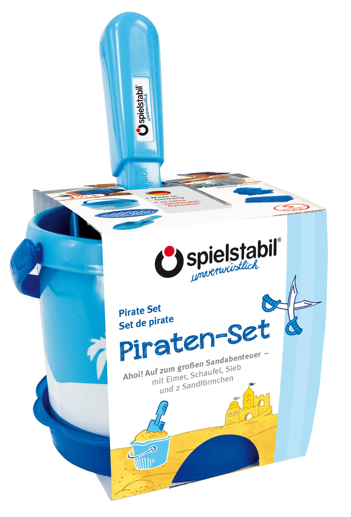 Piraten-Set-5-teilig