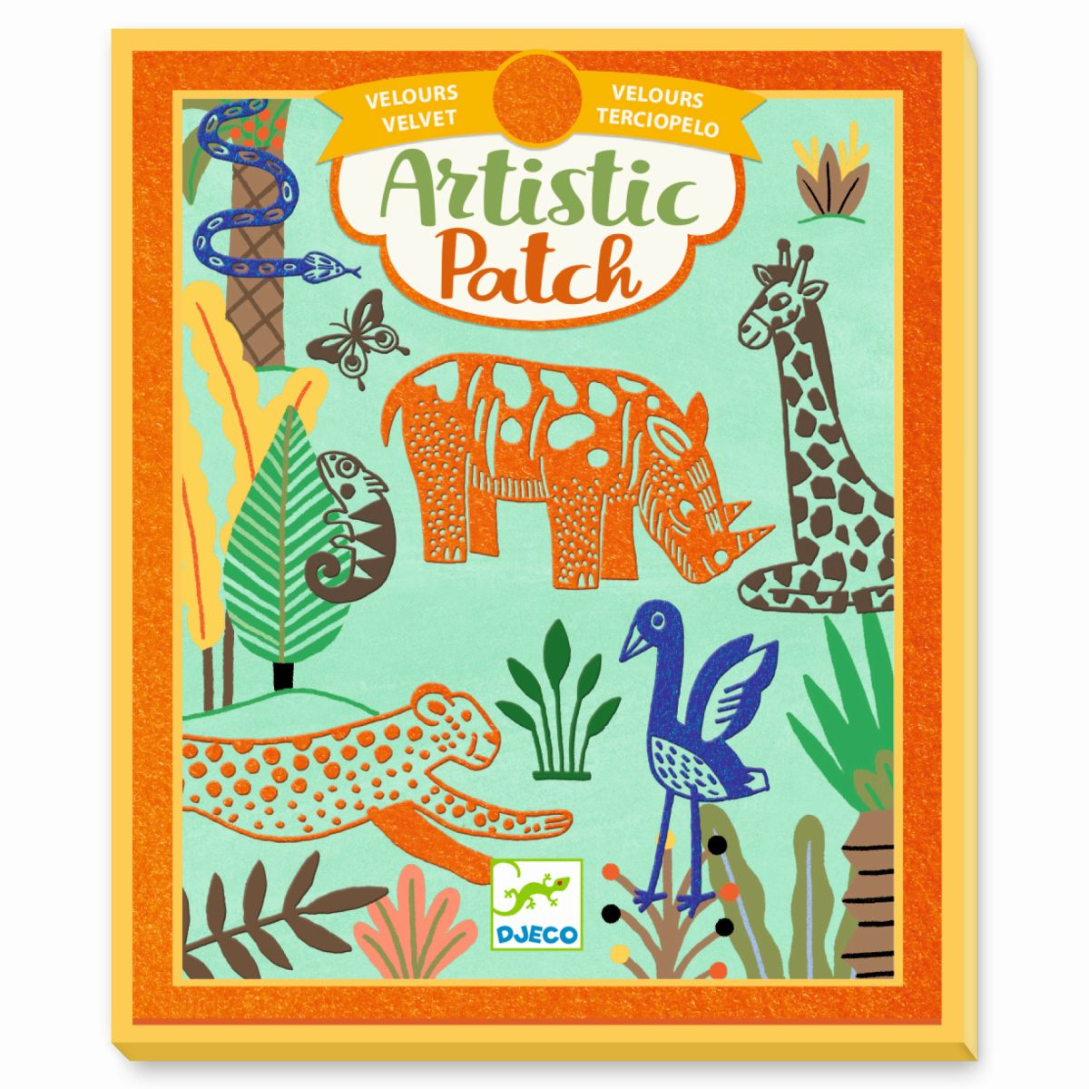 Artistic Patch Wilde Tiere
