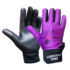 Purple Gaelic Gloves