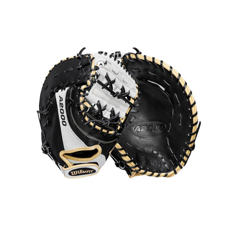 "WILSON 2019 A2000 FP1B SUPERSKIN 12"" FIRST BASE FASTPITCH MITT"