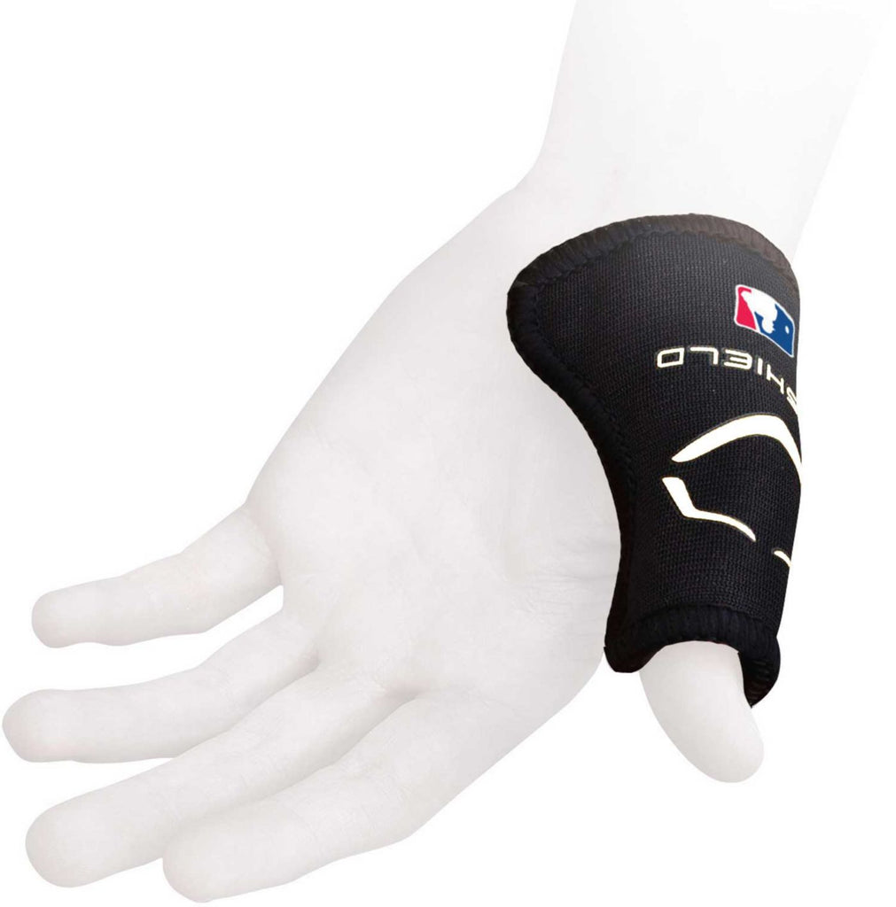 EVOSHIELD CATCHER'S THUMB GUARD - BLACK