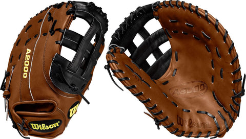 "WILSON 2020 A2000 2013 12.5"" FIRST BASE BASEBALL MITT"