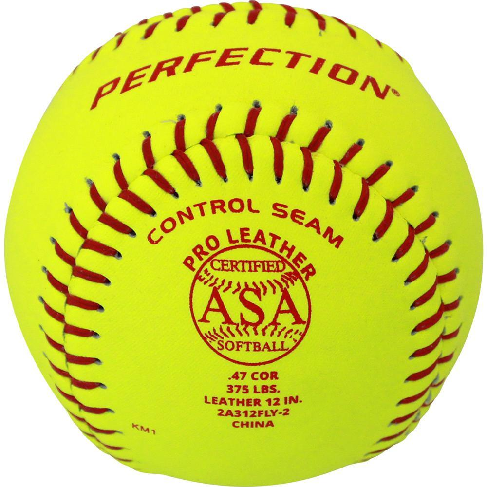 BADEN ASA LEATHER FASTPITCH SOFTBALLS