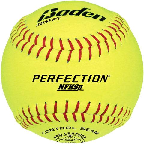 BADEN PERFECTION NFHS GAME SOFTBALLS 12""