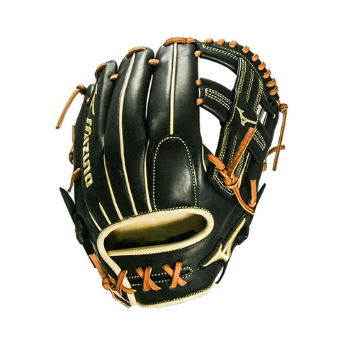 "MIZUNO PRO SELECT BLACK SERIES INFIELD GLOVE 11.75"" - REGULAR"
