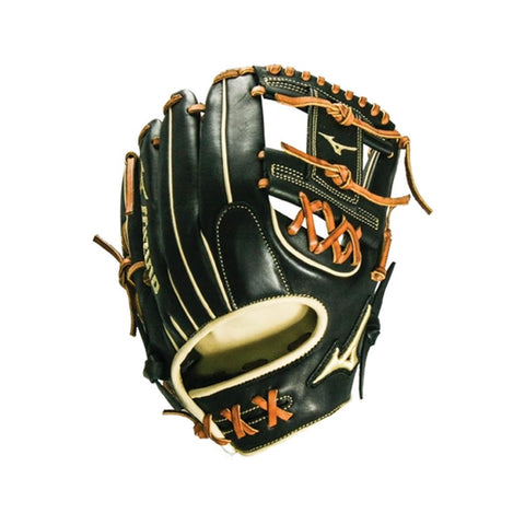 "MIZUNO PRO SELECT BLACK SERIES INFIELD GLOVE 11.75"" - SHALLOW"