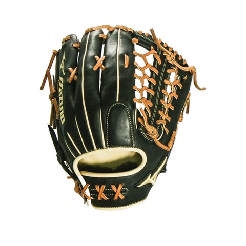 "MIZUNO PRO SELECT BLACK SERIES OUTFIELD GLOVE 12.75"" - DEEP"