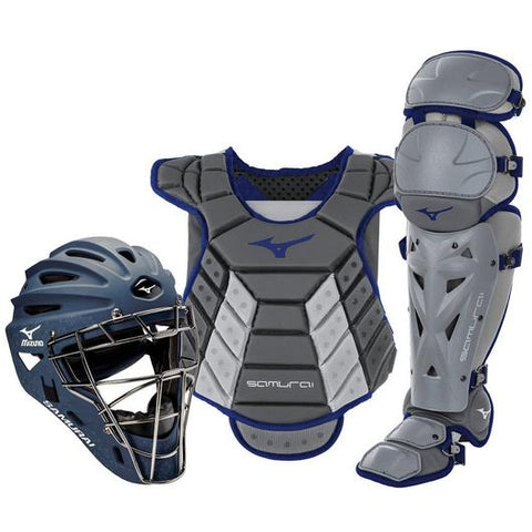 "MIZUNO SAMURAI WOMENS BOXED CATCHER'S GEAR SET (14-15"")"