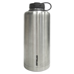 LIFELINE FIFTY/FIFTY 64oz DOUBLE-WALL VACUUM-INSLULATED STAINLESS STEEL GROWLERS