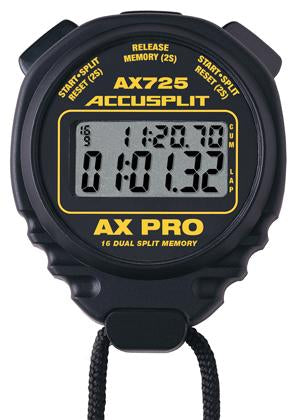 ACCUSPLIT AX725 - AX PRO MEMORY SERIES PROFESSIONAL