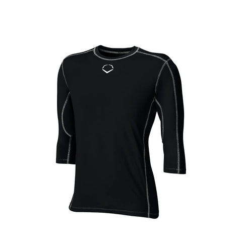 EVOSHIELD YOUTH PRO TEAM MID SLEEVE TEE