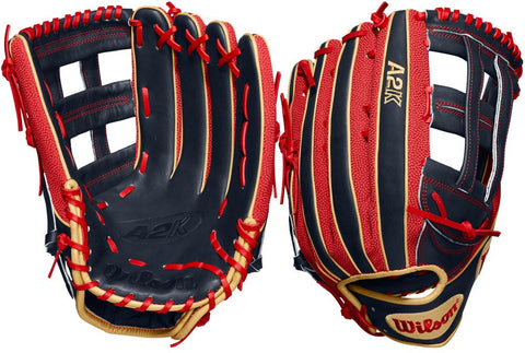 "WILSON 2020 A2K MB50 GM 12.5"" OUTFIELD BASEBALL GLOVE"