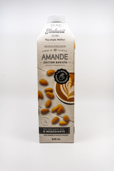 Elmhurst Plant-Based Milk - Almond Unsweetened
