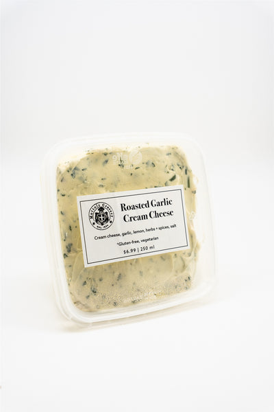 MG Cream Cheese - Spreadable Roasted Garlic