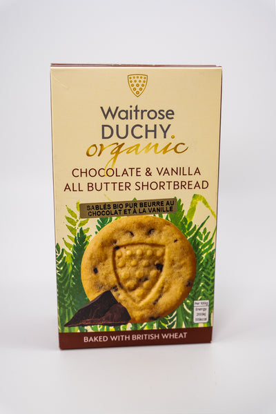 Duchy Shortbread Chocolate w/ Vanilla