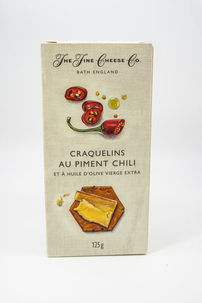 Fine Cheese Co. Heritage Crackers Chili + Olive Oil
