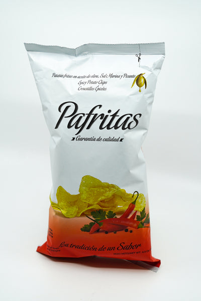 Parfritas Potato Chips Spicy w/ Marine Salt