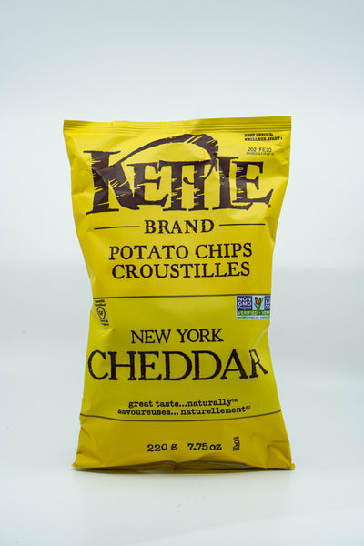 Kettle Brand Potato Chips NY Cheddar