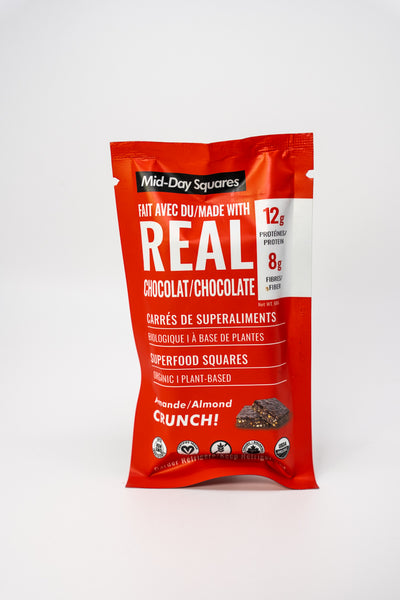 Mid Day Squares Bar Almond Crunch