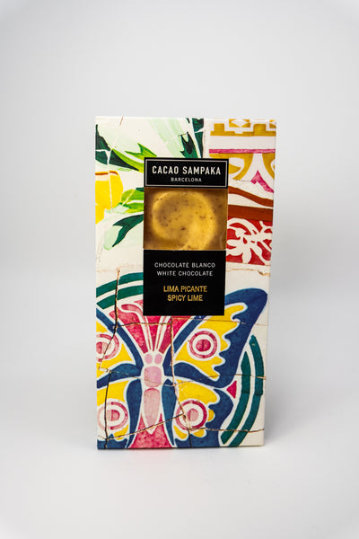 Cacao Sampaka Chocolate Bar Spicy Lime 31%