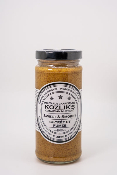 Kozlik's Mustard Sweet and Smokey