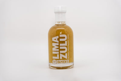 Damien's Hot Sauce Lima Zulu Fresh Lime