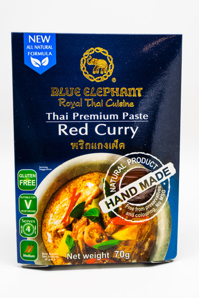 Blue Elephant Paste Red Thai Curry Paste