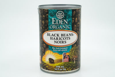 Eden Beans Black - No Salt