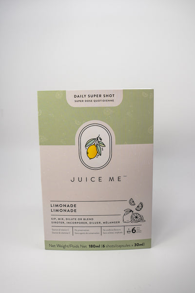 Juice Me Daily Super Shots Limonade