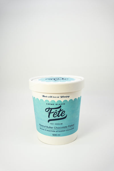 Fete Ice Cream Peanut Butter Chocolate Pretzel