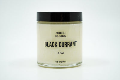 Public Goods Candle - Black Currant