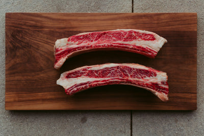 Canadian Wagyu Short Ribs Bone In (1lbs)