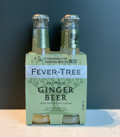 Fevertree - Ginger Beer 4pk