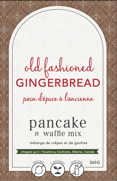 Lannie Rae Pancake + Waffle Mix Old Fashioned Gingerbread