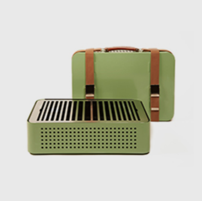 Mon Oncle Portable Bbq - Green