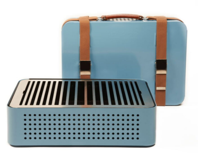 Mon Oncle Portable Bbq - Blue