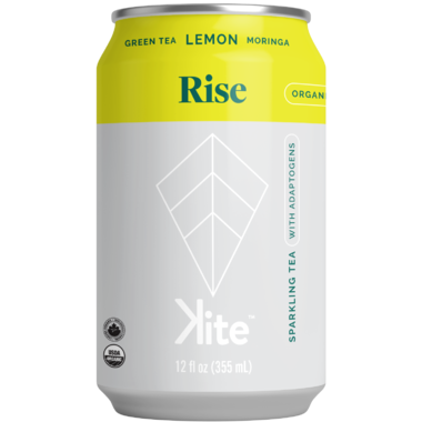 Kite Rise Sparkling Botanicals with Moringa Green Tea Lemon