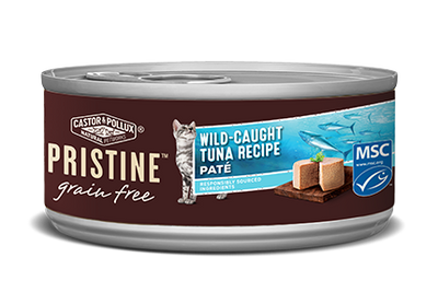 Castor + Pollux Pristine Cat Wild Caught Tuna Pate