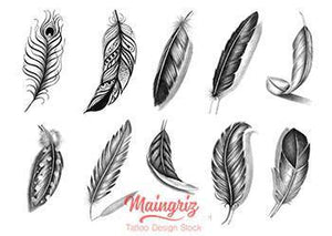 sexy feathers tattoo ideas references