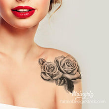 Load image into Gallery viewer, Roses Tattoo Ideas #TattooPack