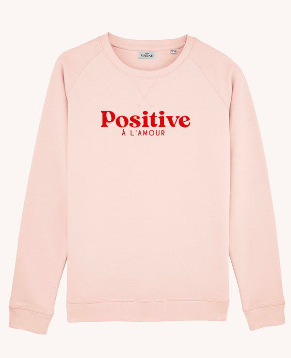 Sweat femme Positive personnalisable