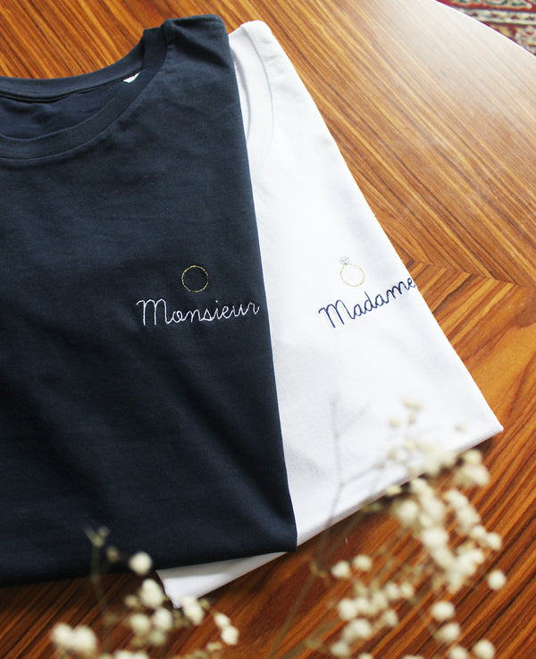T-shirt homme brodé Alliance Monsieur