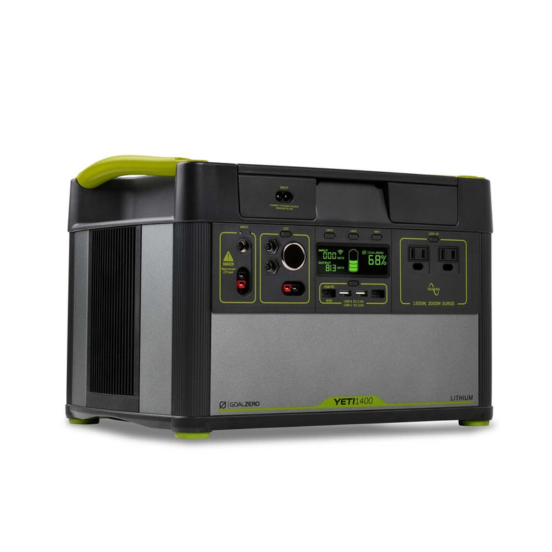 Yeti 1400 Lithium Power Station with WiFi