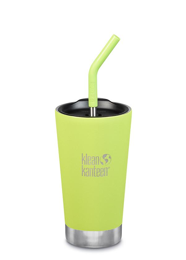 Insulated Tumbler 16oz + Straw