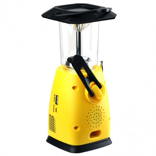 KA249W Lantern with NOAA radio and Solar Powered